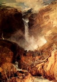 Reichenbach Falls by Turner